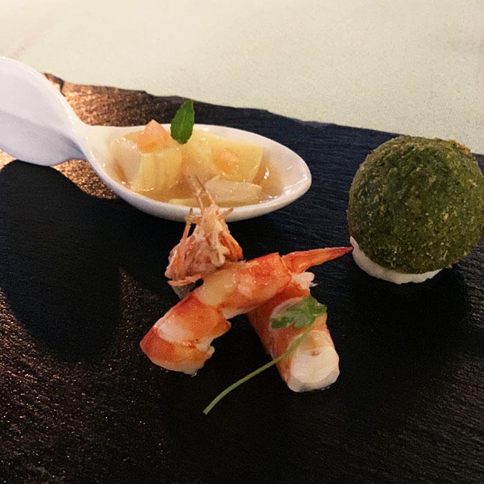 筍/車海老/長崎和牛テール